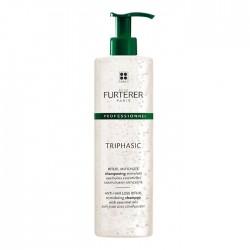 Triphasic shampooing