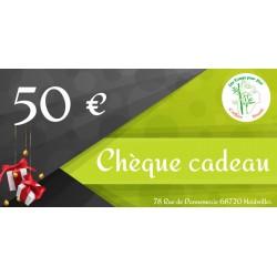 Bon-cadeau 50 €